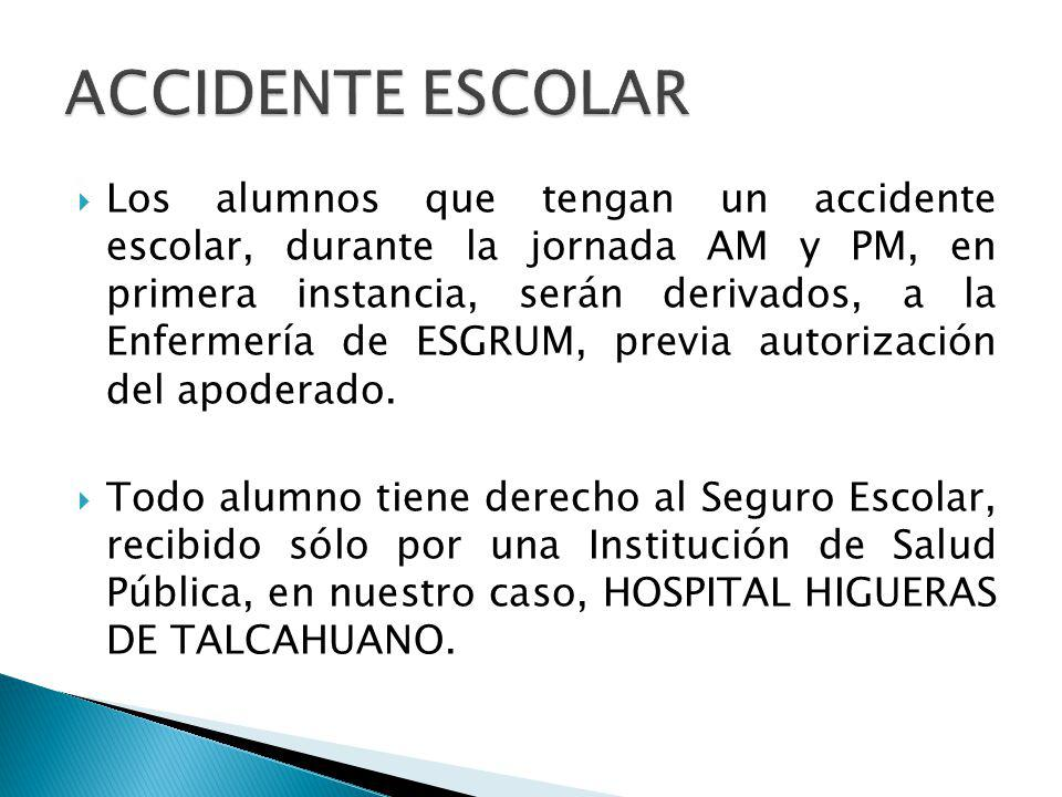 ACCIDENTE ESCOLAR