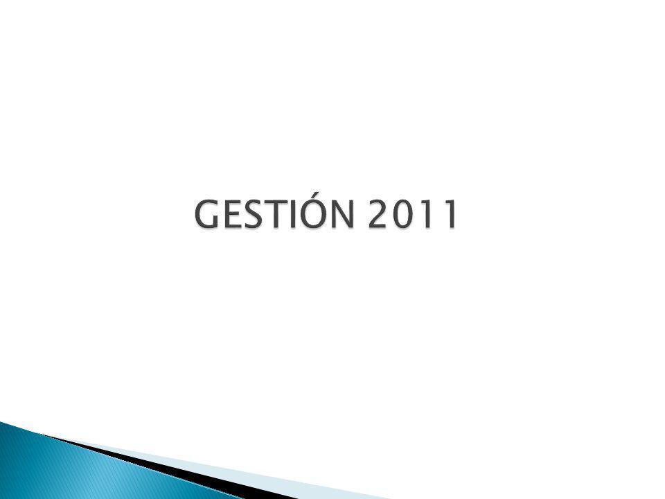 GESTIÓN 2011