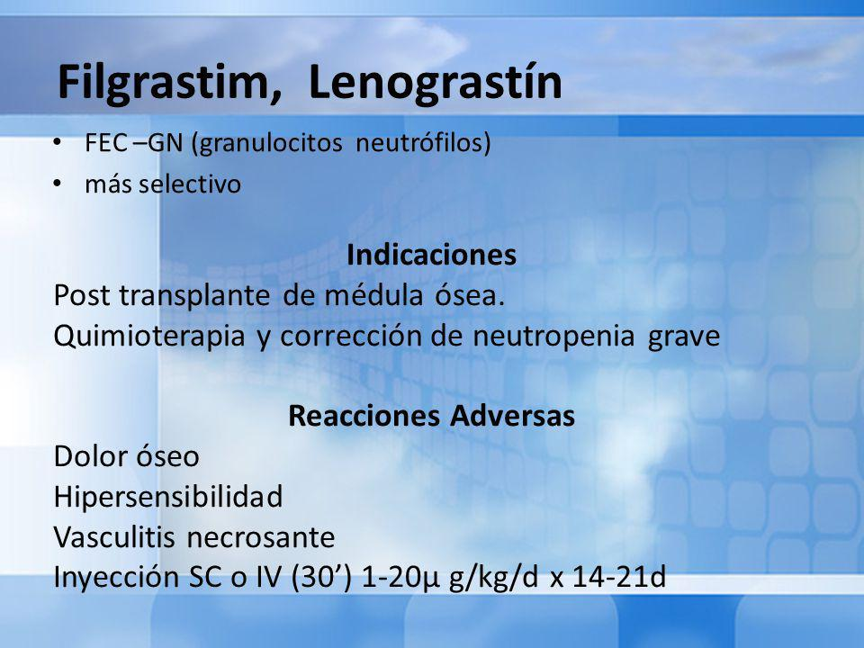 Filgrastim, Lenograstín