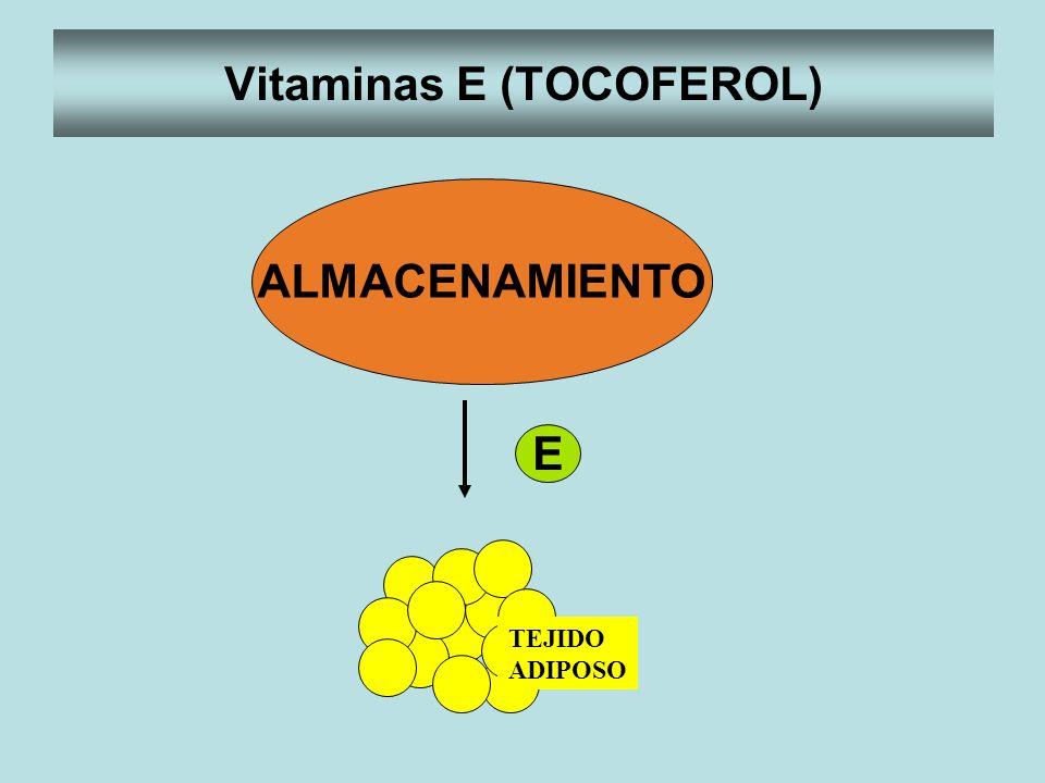 Vitaminas E (TOCOFEROL)