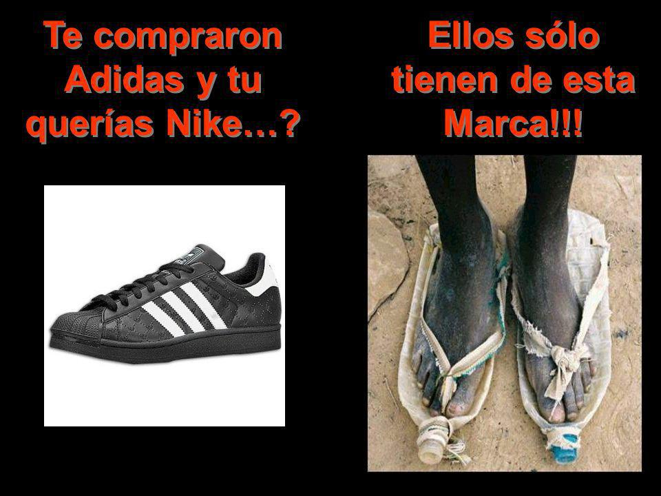 Te compraron Adidas y tu querías Nike…