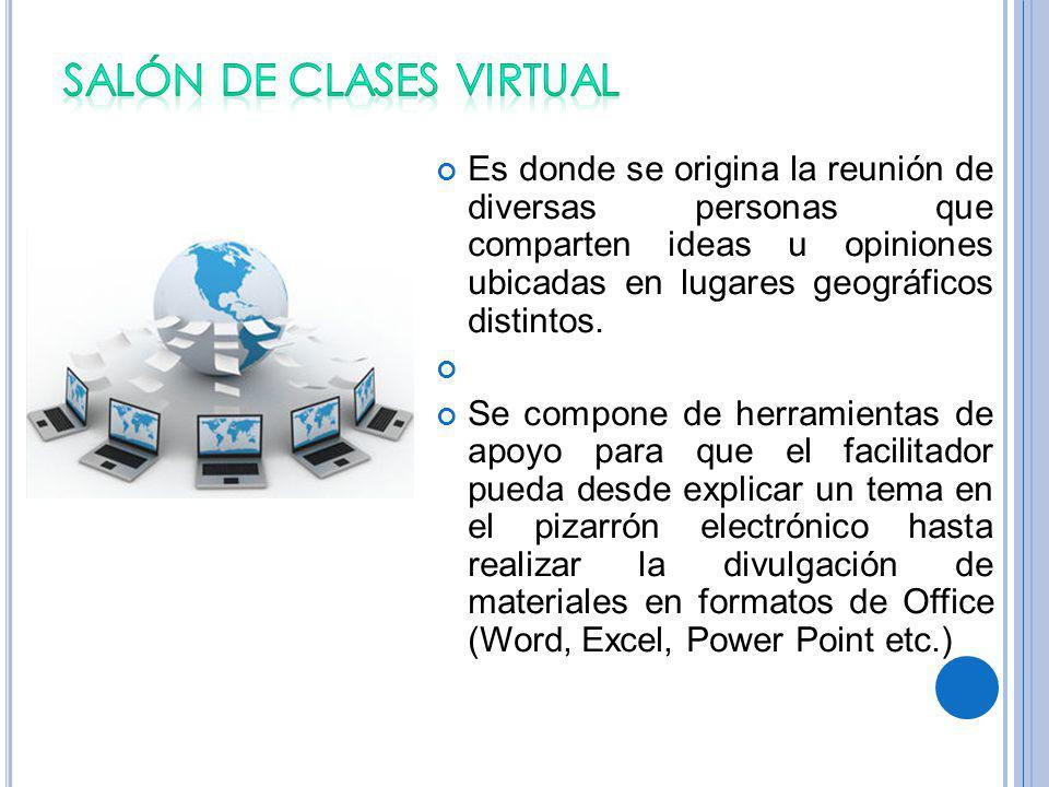 SALÓN DE CLASES VIRTUAL