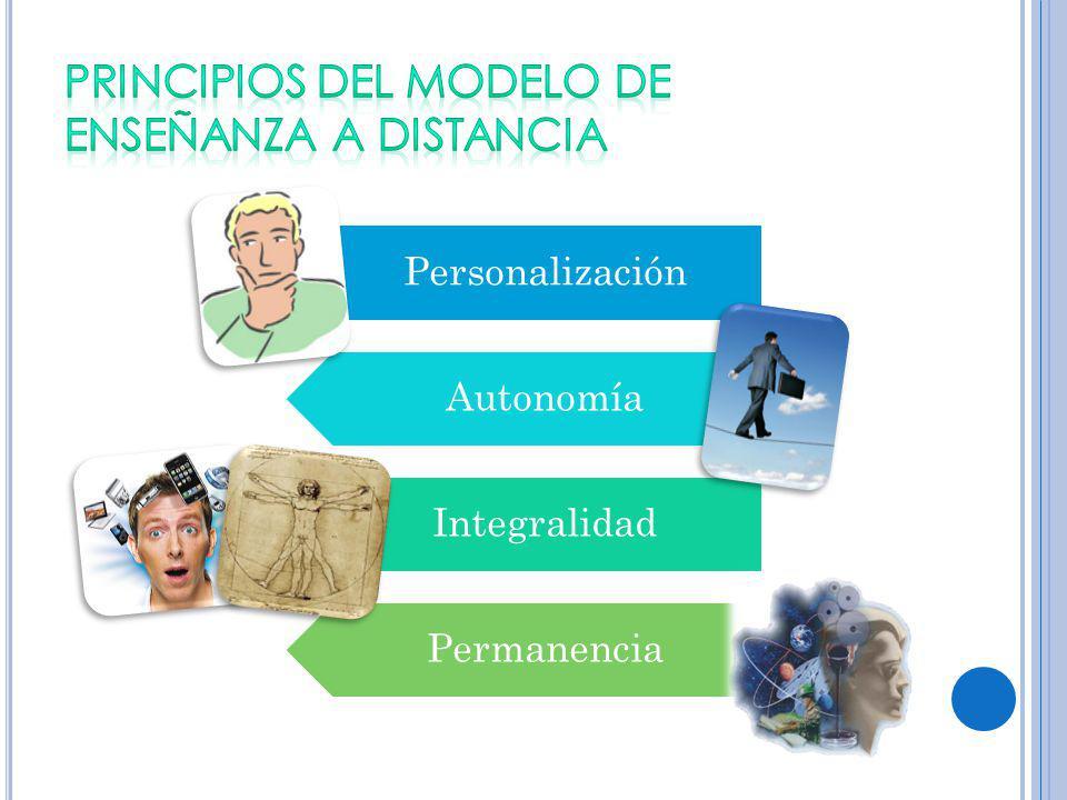 PRINCIPIOS DEL MODELO DE ENSEÑANZA A DISTANCIA