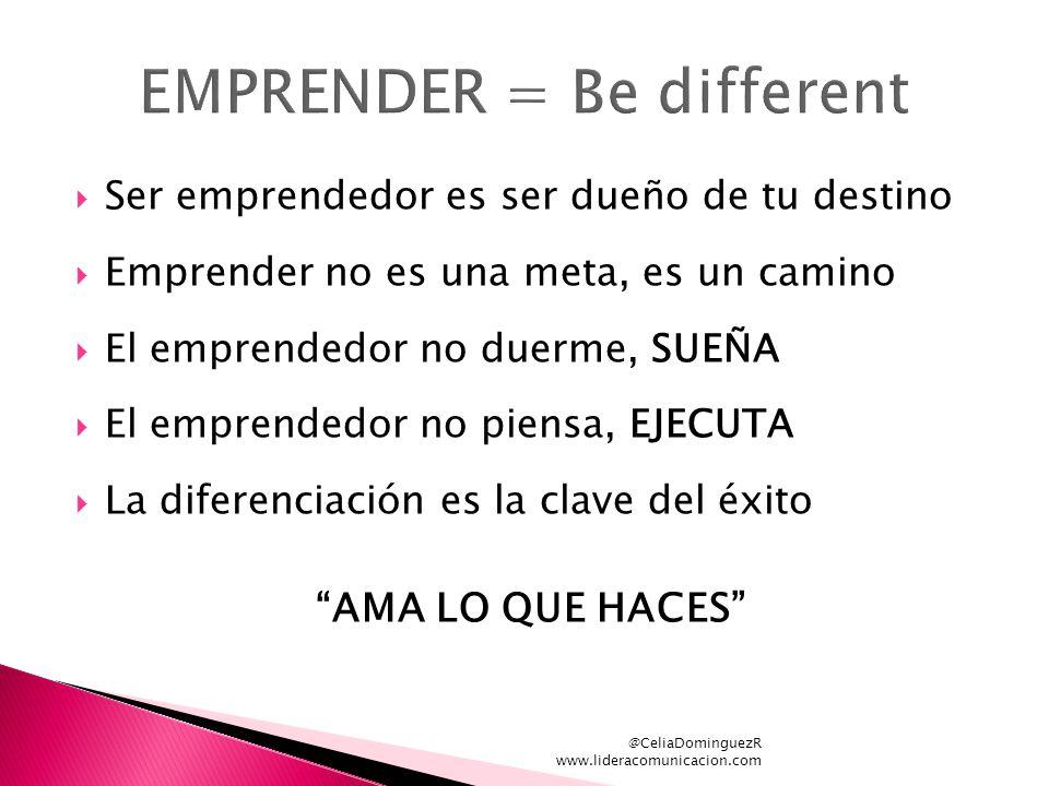 EMPRENDER = Be different