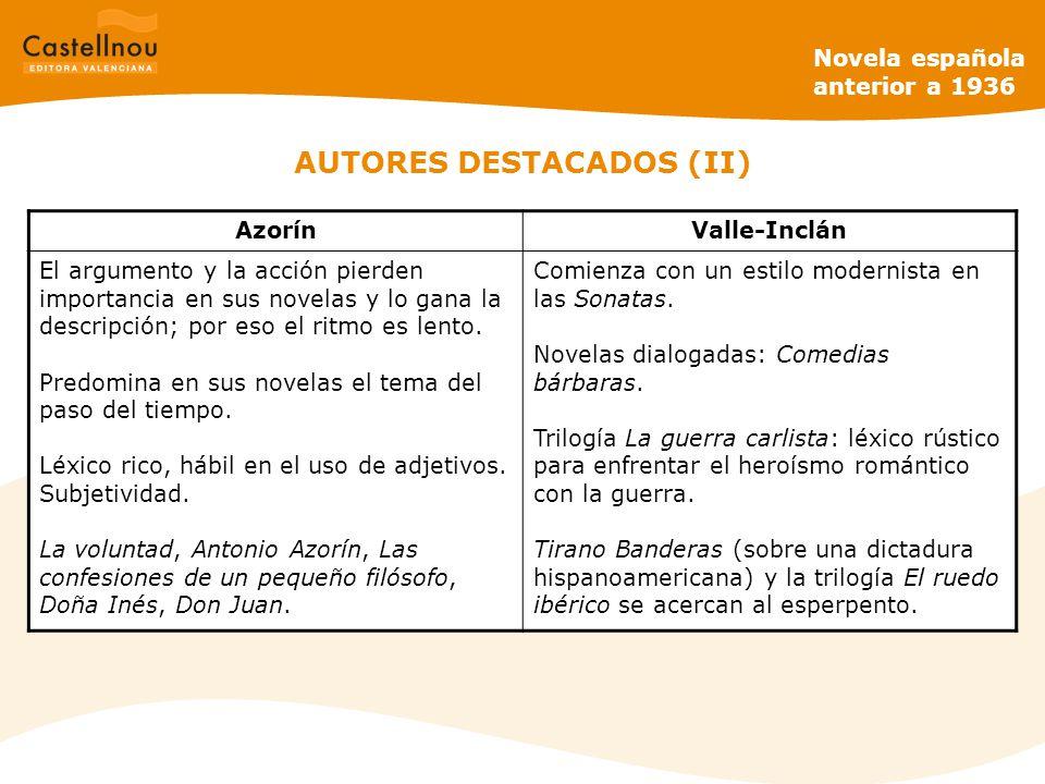 AUTORES DESTACADOS (II)