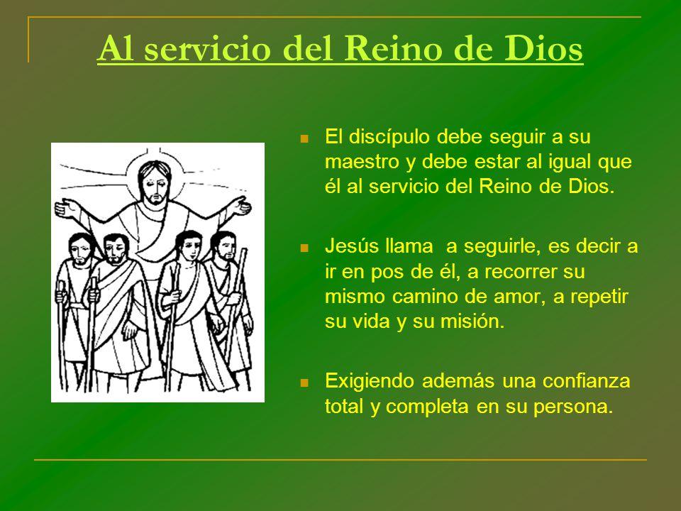 Al servicio del Reino de Dios