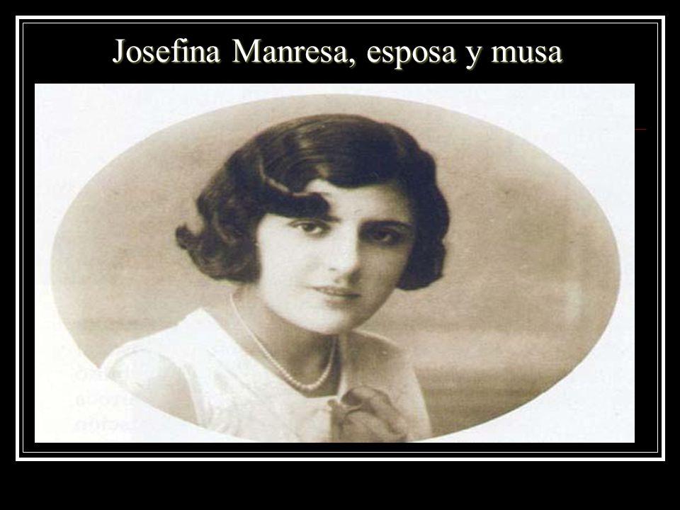 Josefina Manresa, esposa y musa