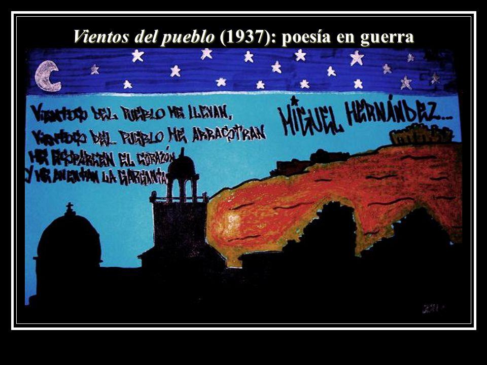 Vientos del pueblo (1937): poesía en guerra