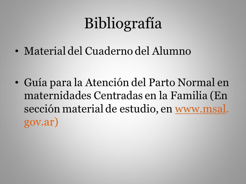 Bibliografía Material del Cuaderno del Alumno