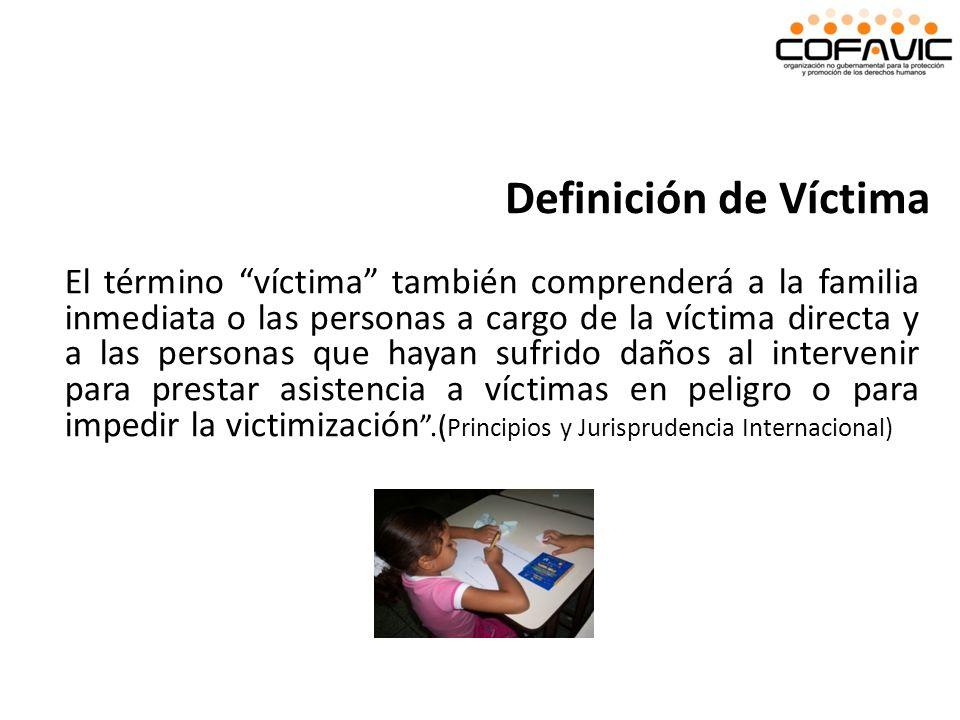 Definición de Víctima