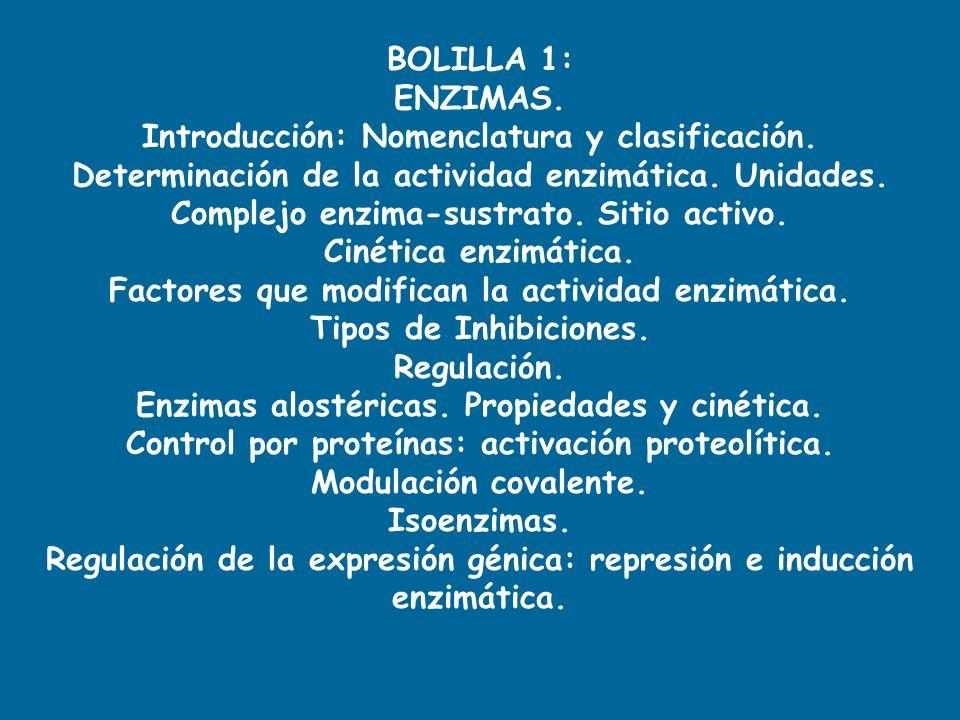 Introducción: Nomenclatura y clasificación.