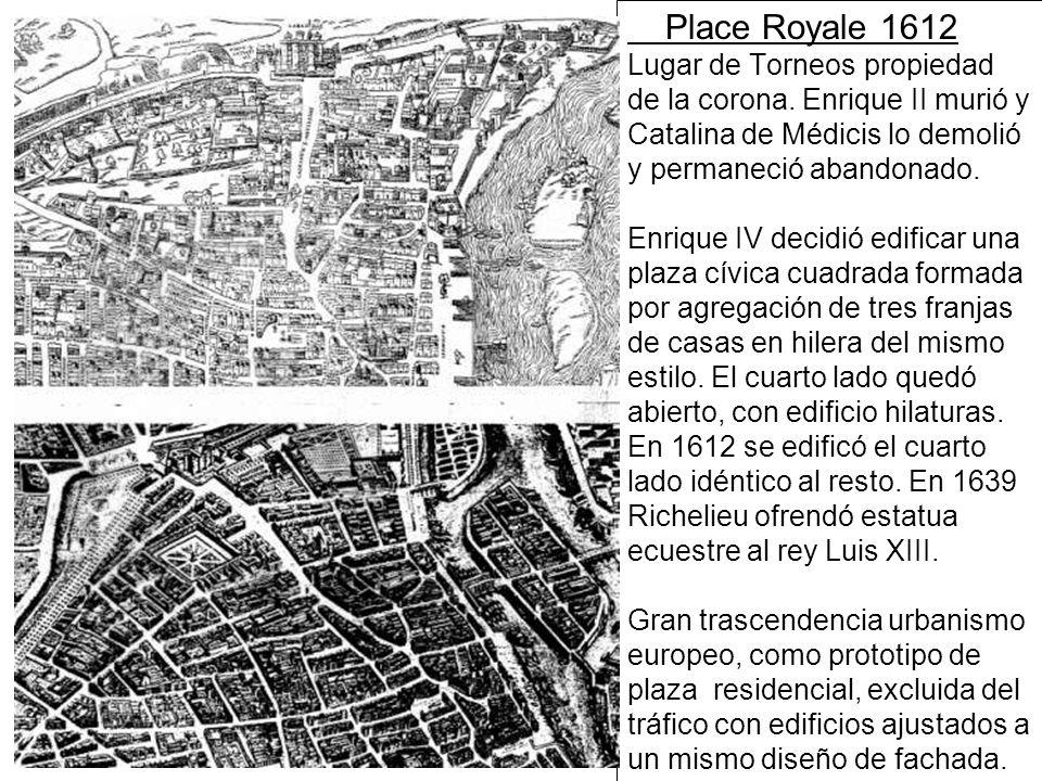 Place Royale 1612 Lugar de Torneos propiedad de la corona