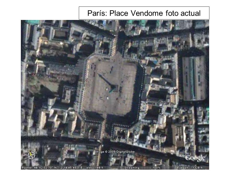 París: Place Vendome foto actual