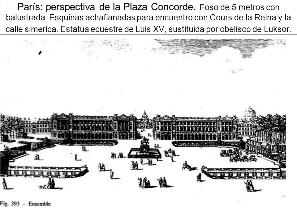 París: perspectiva de la Plaza Concorde