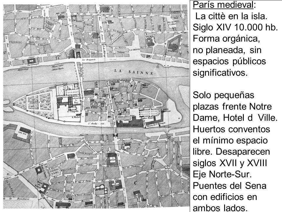 París medieval: La cittè en la isla. Siglo XIV 10. 000 hb