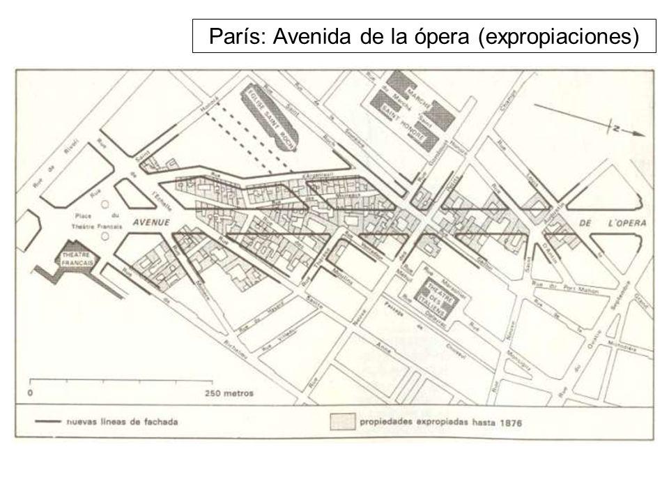 París: Avenida de la ópera (expropiaciones)