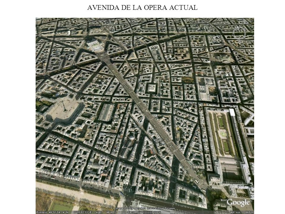 AVENIDA DE LA OPERA ACTUAL