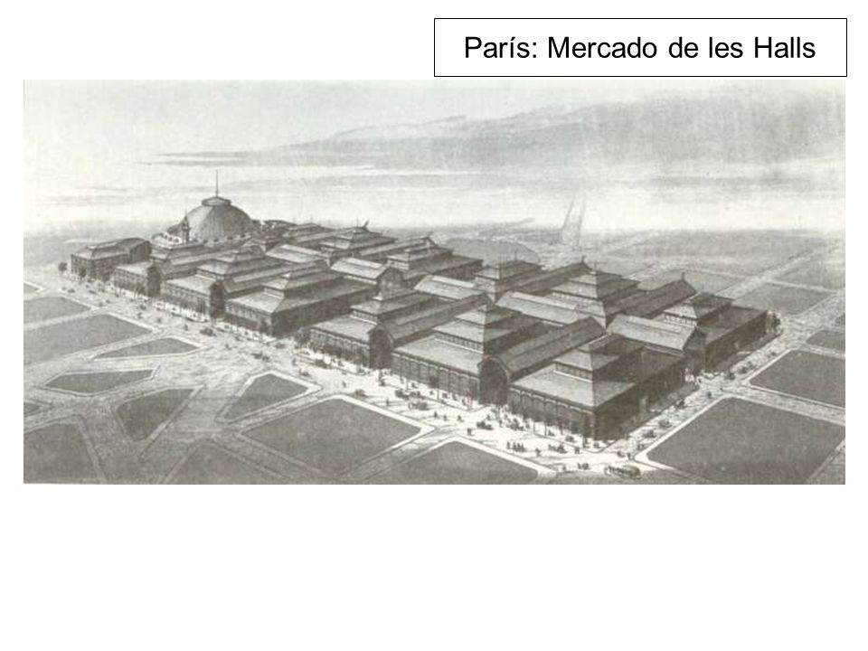 París: Mercado de les Halls