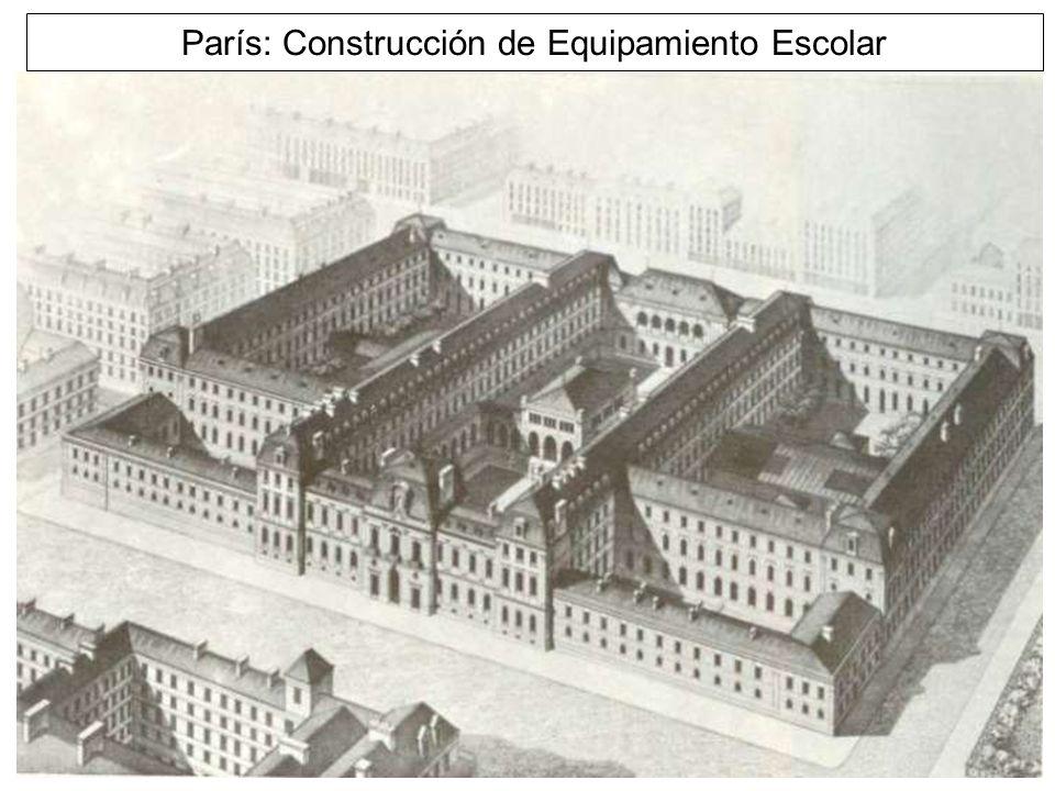 París: Construcción de Equipamiento Escolar