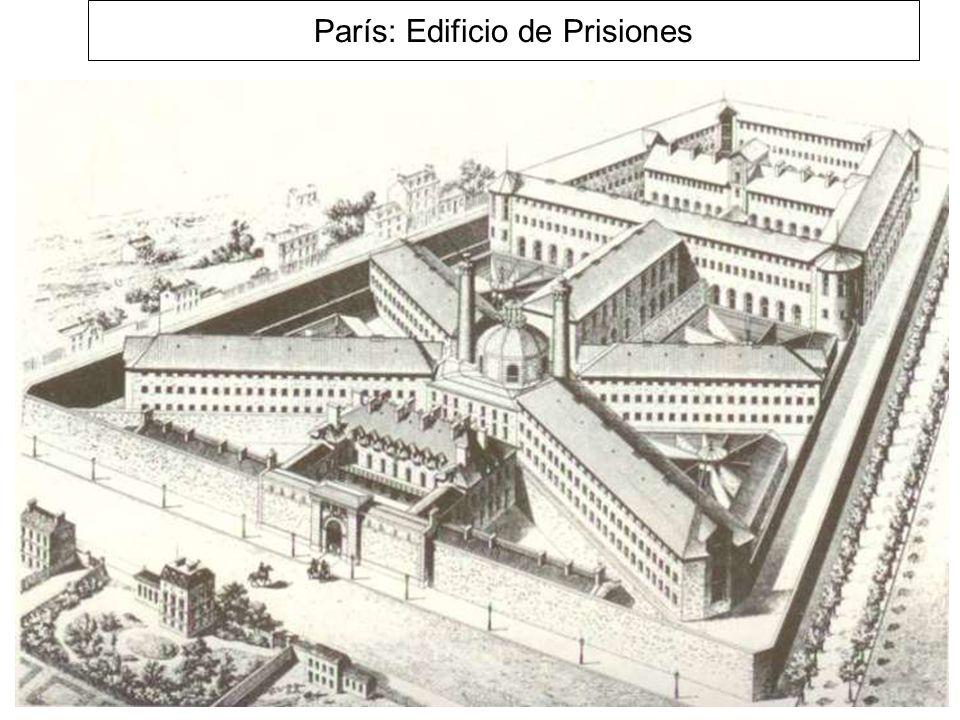París: Edificio de Prisiones