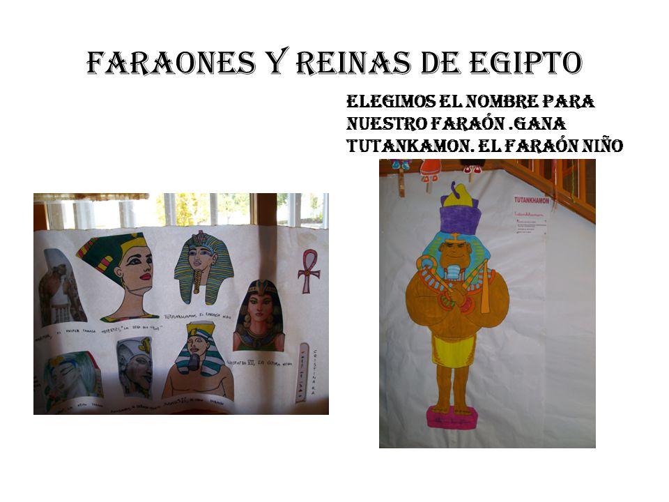 FARAONES Y REINAS DE EGIPTO