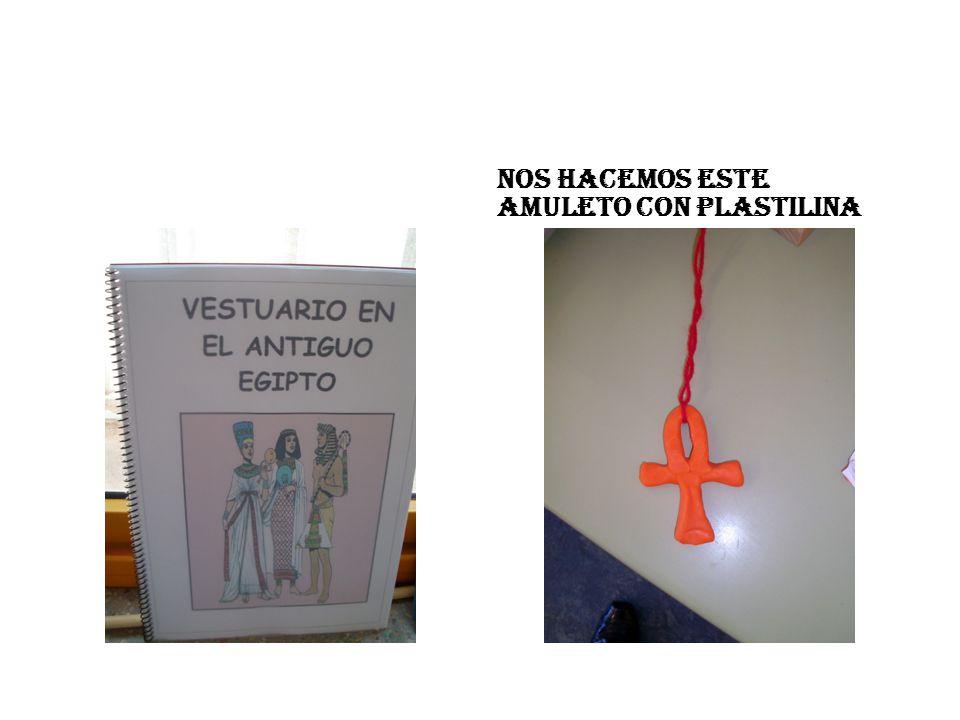 NOS HACEMOS ESTE AMULETO CON PLASTILINA