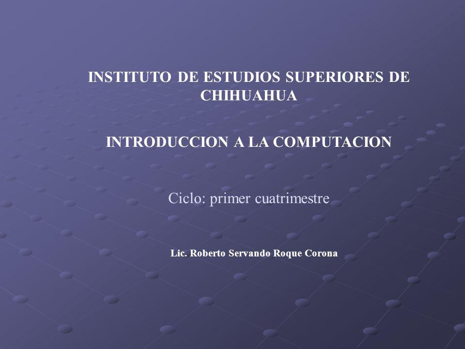 INSTITUTO DE ESTUDIOS SUPERIORES DE CHIHUAHUA