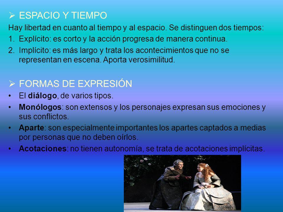 ESPACIO Y TIEMPO FORMAS DE EXPRESIÓN