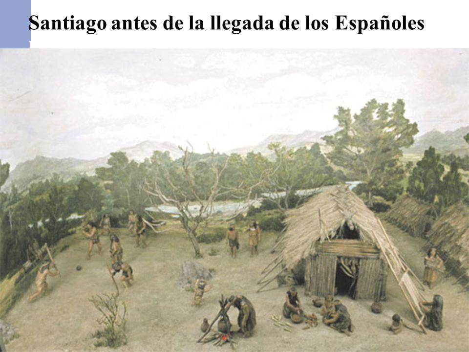Santiago antes de la llegada de los Españoles los Españoles