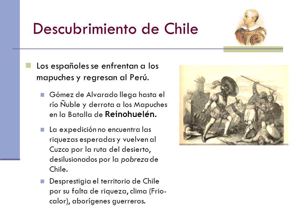 Descubrimiento de Chile
