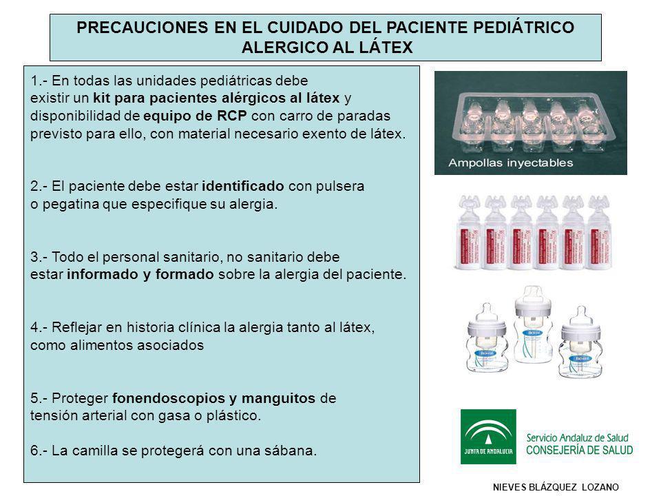 PRECAUCIONES EN EL CUIDADO DEL PACIENTE PEDIÁTRICO