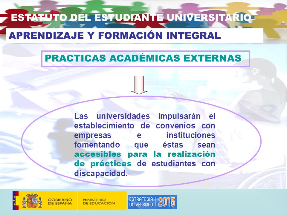 ESTATUTO DEL ESTUDIANTE UNIVERSITARIO