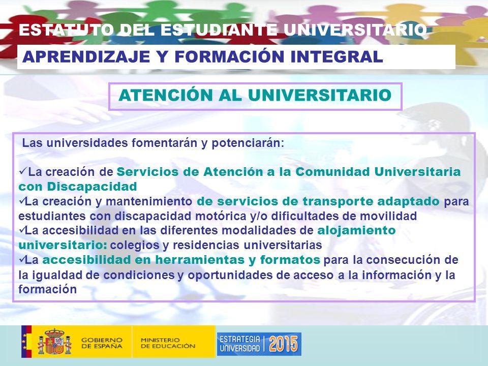 ATENCIÓN AL UNIVERSITARIO