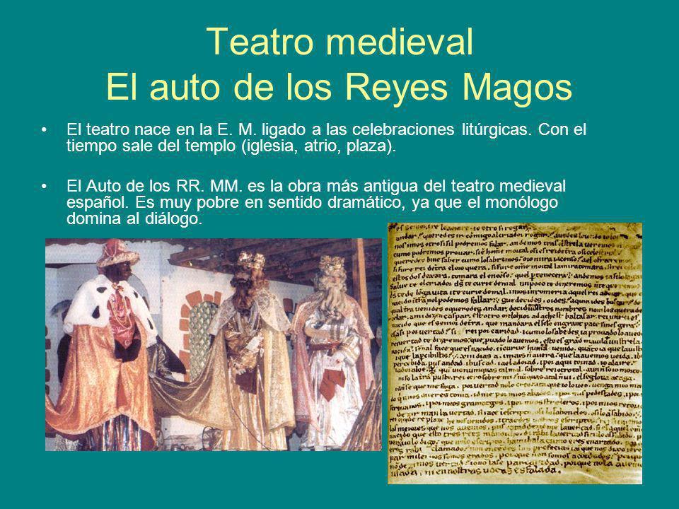 Teatro medieval El auto de los Reyes Magos