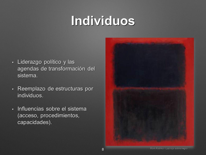 Mark Rothko - Luz roja sobre negro