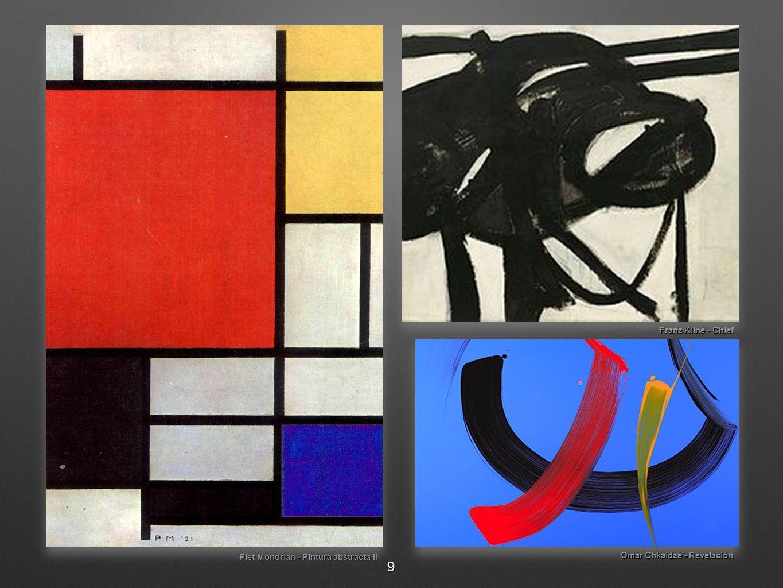 Piet Mondrian - Pintura abstracta II Omar Chkaidze - Revelación