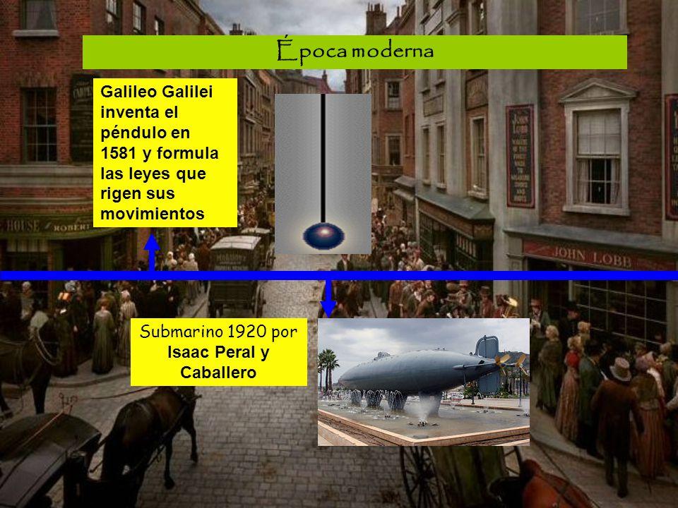 Submarino 1920 por Isaac Peral y Caballero