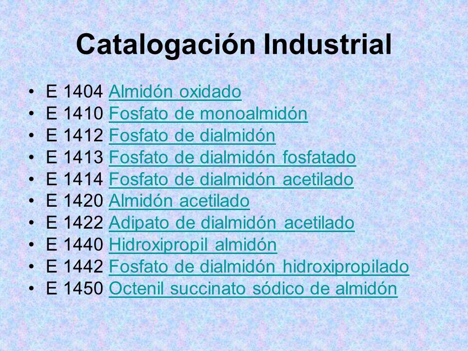 Catalogación Industrial