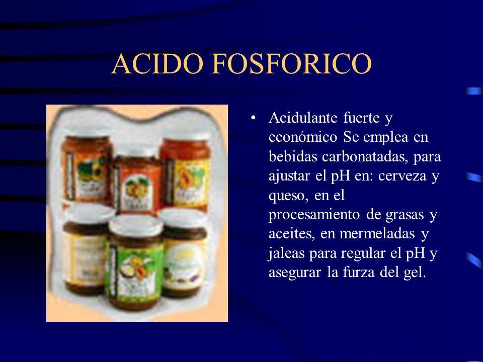 ACIDO FOSFORICO