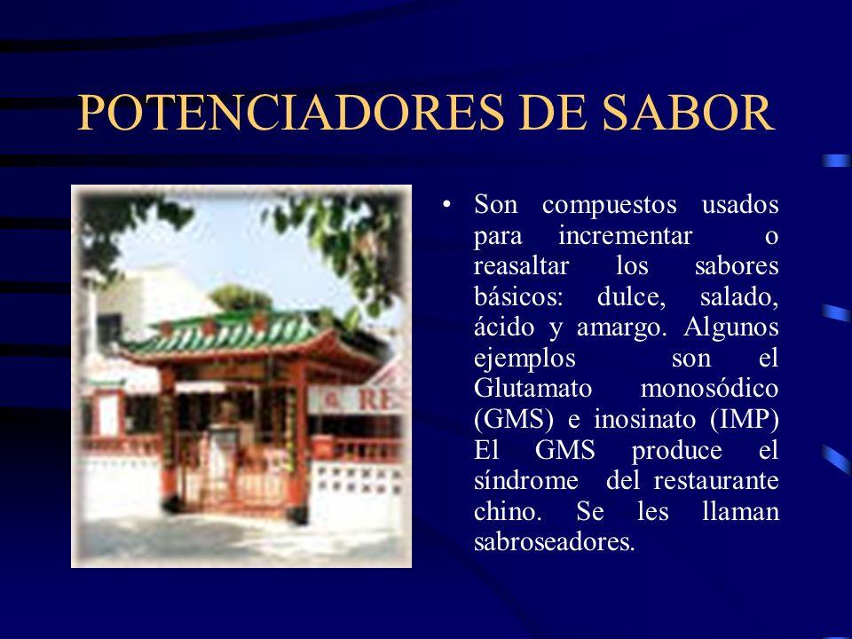 POTENCIADORES DE SABOR