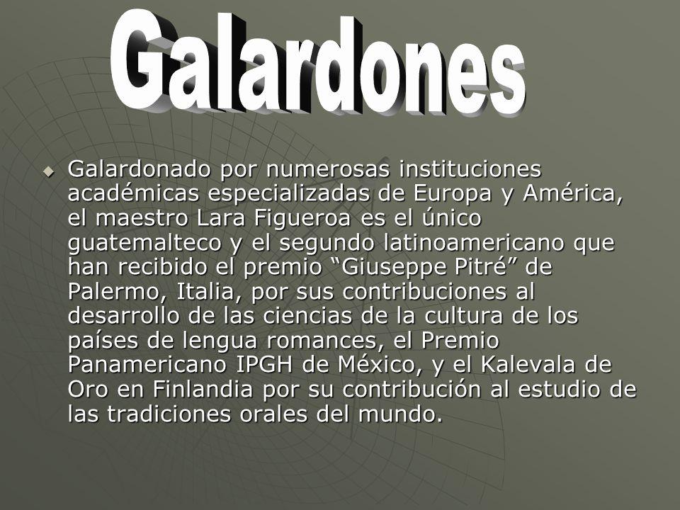 Galardones