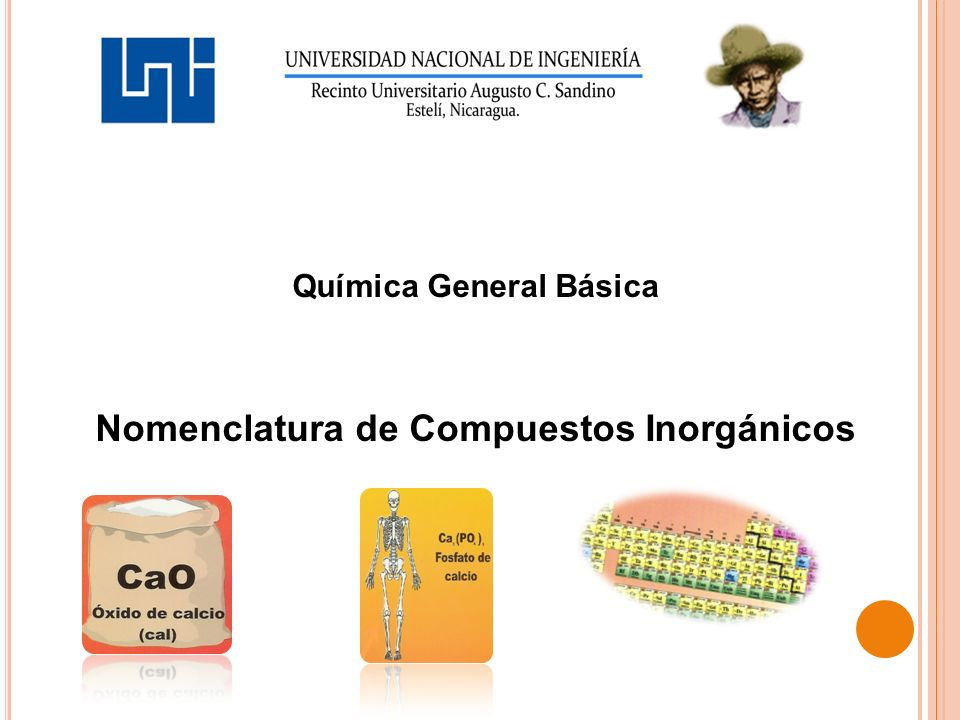 Química General Básica Nomenclatura de Compuestos Inorgánicos
