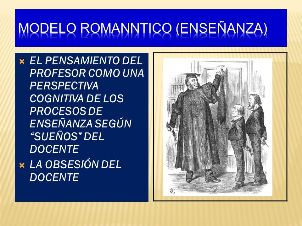 MODELO ROMANNTICO (ENSEÑANZA)