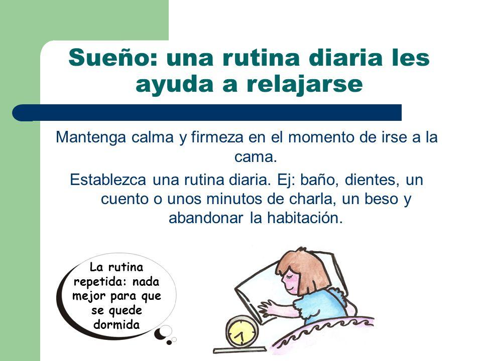 Sueño: una rutina diaria les ayuda a relajarse