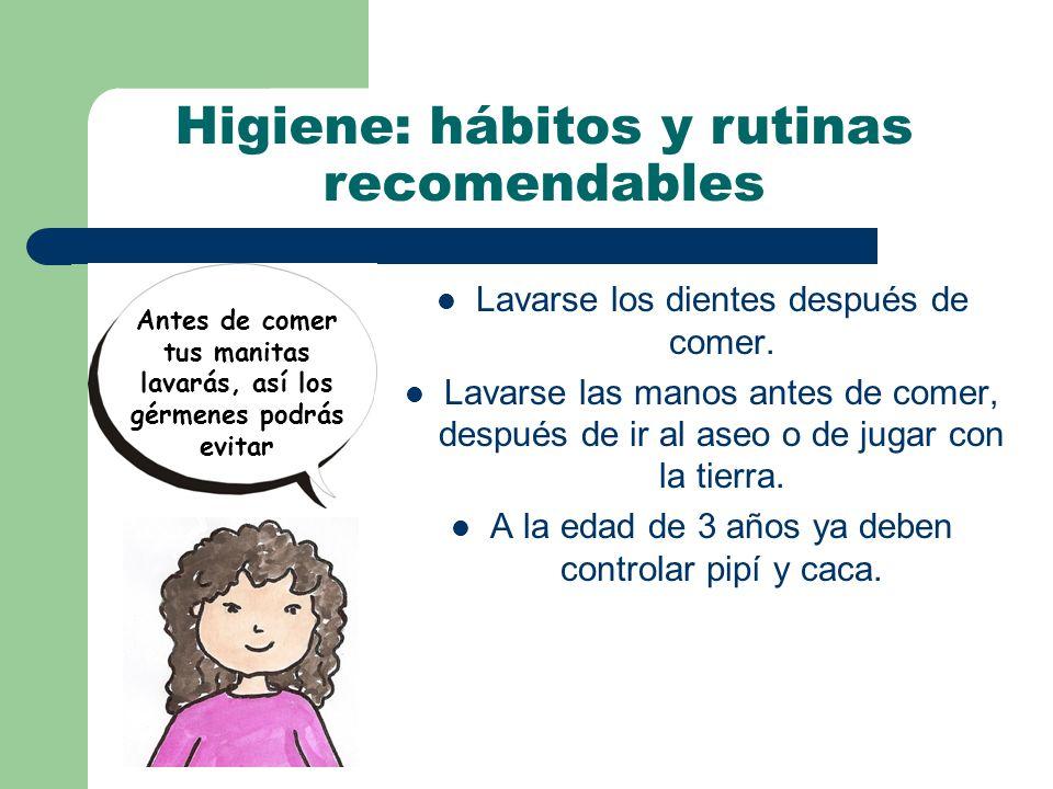 Higiene: hábitos y rutinas recomendables