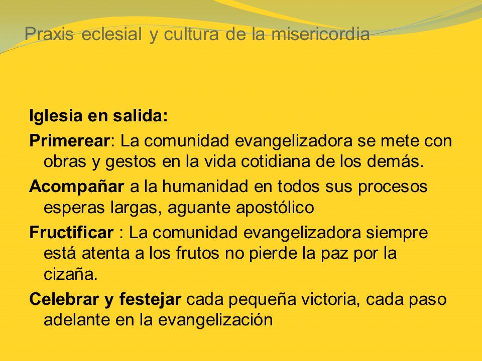 Praxis eclesial y cultura de la misericordia