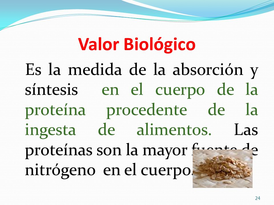 Valor Biológico