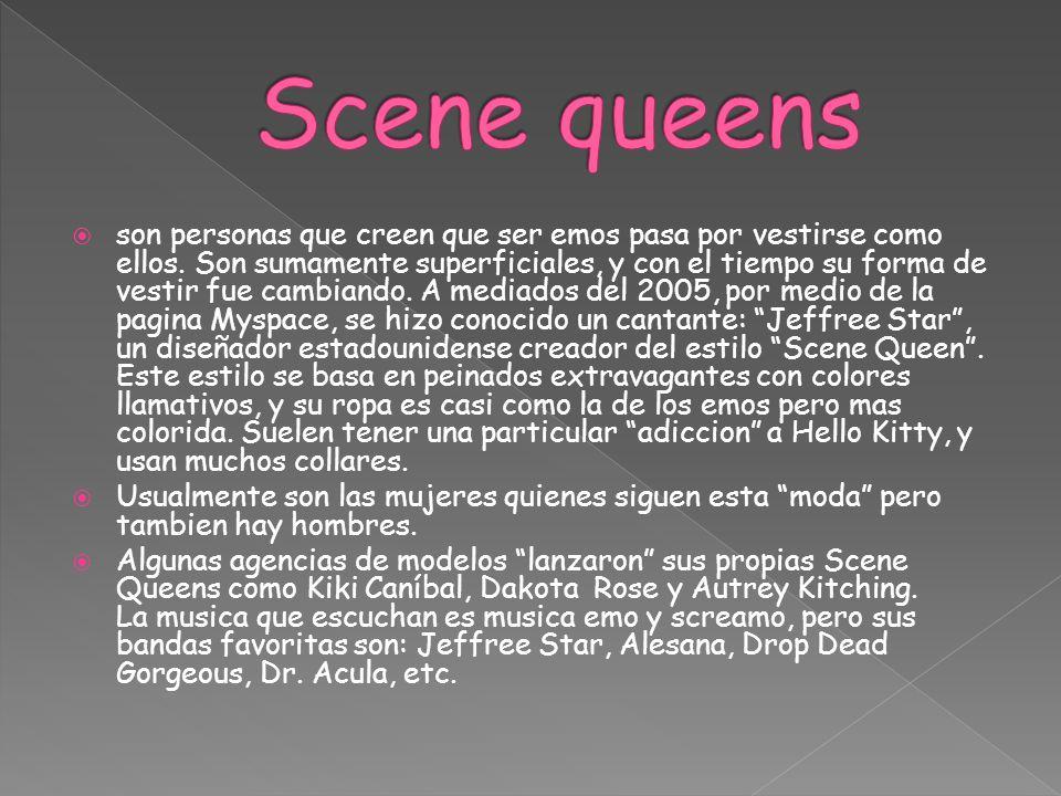 Scene queens