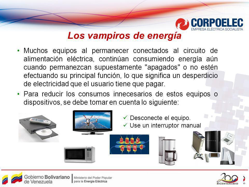Los vampiros de energía