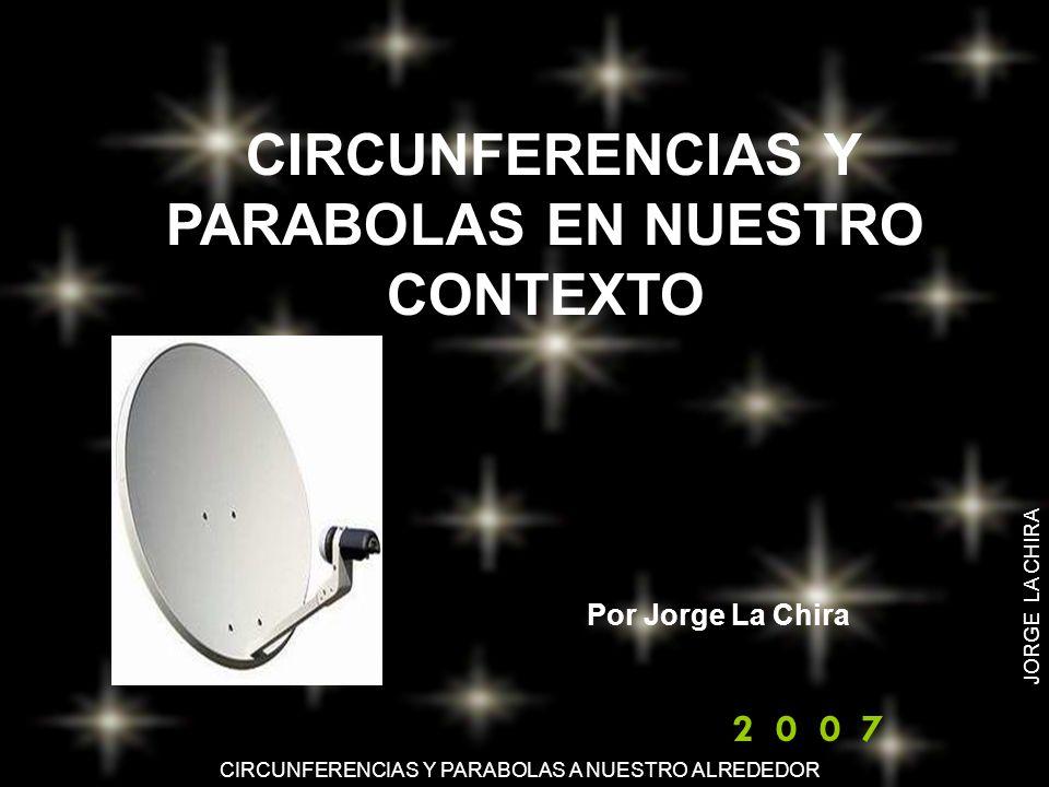CIRCUNFERENCIAS Y PARABOLAS EN NUESTRO CONTEXTO